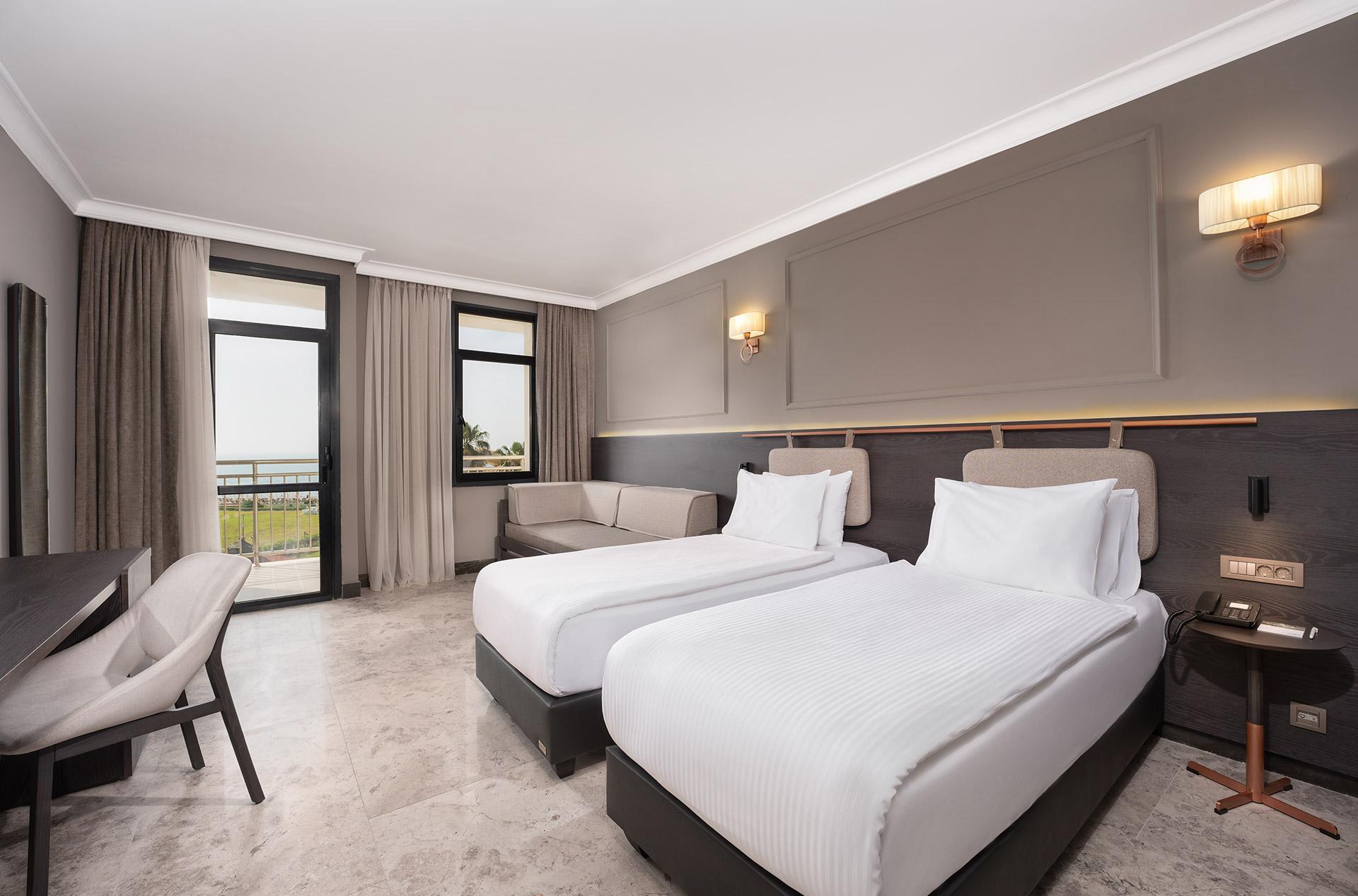 Hotel Odası Deniz Manzaralı Oda